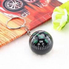 Quality 28mm Outdoor Keychain Liquid Hiking Compass Ball Camping