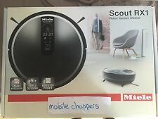 Brand NEW MIELE SCOUT RX1 Robot Vacuum Cleaner Black *For bmw-autohausbmw ONLY