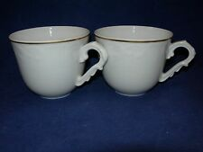 Vista Alegre Manueline Gold Two Cups  Free Shipping