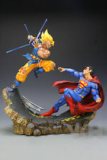 DRAGON BALL Z RESINA GOKU GOKOU vs SUPERMAN RESIN FIGURE FIGURA STATUE.PRE-ORDER