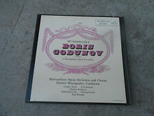 MUSSORGSKY-BORIS GODUNOV-MITROPOULOS-2 LP BOX-BOOKLET-RCA LM 6063-RED SD-NM