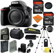 Nikon D3300 24.2 MP Digital SLR Camera Body + 32GB Top Accessory Bundle
