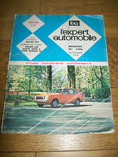 REVUE TECHNIQUE L'EXPERT AUTOMOBILE 146 9-1978 MAZDA 323 BMW s 3 Ford Taunus 76