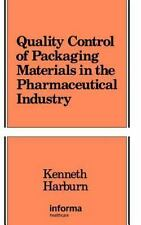 Quality Control of Packaging Materials in the Pharmaceutical Industry -ExLibrary
