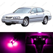 12 x Pink/Purple LED Interior Light Package For 2000-2005 Chevrolet Chevy Impala