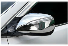 LED Side Mirror Garnish Chrome Morning Kit For 2013~2015+ Hyundai Santa Fe Sport