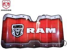 Dodge Ram Windshield Foldable Sun Shade Sun Visor Reflective Fast Shipping