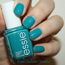 NEW! Essie nail polish lacquer in GARDEN VARIETY ~ Teal blue orchid