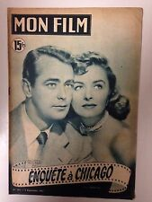 MON FILM N°263 1951 ENQUETE A CHICAGO / ALAN LADD - DONNA REED