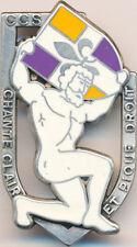 67° R.I, C.C.S, Chante clair et pique droit, écu orange et violet, Fraisse(H149)