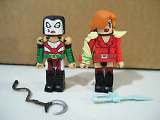 LOT OF 2 MINIMATES FIGURES DAVID MACK'S KABUKI & JOE LINSNER'S DAWN 2005