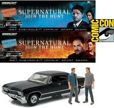 rare Exclusive SUPERNATURAL CHEVY IMPALA 1:18 diecast car w/ 4 figures NYCC SDCC