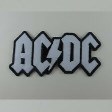 AC/DC EMBROIDERED MUSIC SONGS HEAVY METAL SEW IRON ON PATCH T-SHIRT  CAP AA