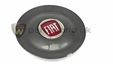 Fiat Bravo sport anthracite alloy wheel centre cap 735452756 New & GENUINE