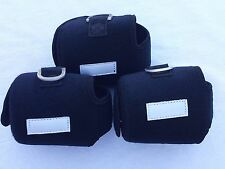 3 CUSTOM REEL COVER SIZE M FOR ACCURATE BX 500 AVET LX DAIWA SHIMANO REEL BLACK