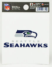 Seattle Seahawks Small Static-Cling Window Decal Sticker - 3 x 4 - NFL