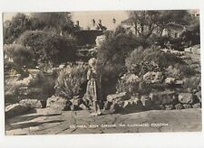 Southsea Rock Gardens Illuminated Fountain 1964 RP Postcard 046a