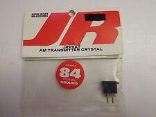 JR - AM TRANSMITTER CRYSTAL -CHANNEL 84 - 75.870 MHz - GROUND - MODEL# JRPXAT