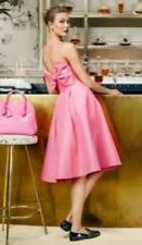 BNWT KATE SPADE MADISON AVENUE PINK LOULA DRESS £925 U.K. 12 USA 8