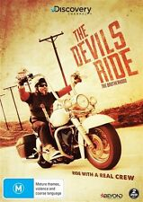 The Devils Ride - Brotherhood (DVD, 2015, 2-Disc Set) BRAND NEW!