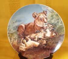 """A Watchful Eye"" COLLECTOR PLATE- 2nd issue SIGNS OF LOVE COLLECTION"
