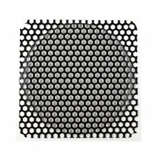 140mm Steel Honeycomb Style Mesh Fan Filter (Black)