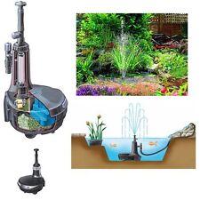Hozelock Easy Clear 6000 Teichfilter mit UV-C Klärer und  Fontäne / Wasserfall