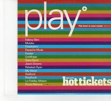 (FR169) Hot Tickets Presents: Play Vol 1 Best In New Music - 2001 CD