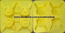 Pokemon Pikachu Chocolate Fondant Clay Jelly Silicone Soap Mold Molder