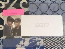 GOT7 Flight Log Departure Junior Jackson Photo Ticket KPOP Top Loader Official