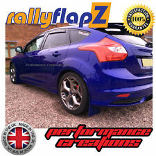 rallyflapZ FORD FOCUS ST Mk3 ST250 (2012 on) Mud Flaps 'Spirit Blue' 3mm KAYLAN