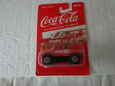 HARTOY COKE COCA COLA DIE-CAST 1/64  CHEVY OFF ROAD 4X4 TRUCK TEAM TURBO #4
