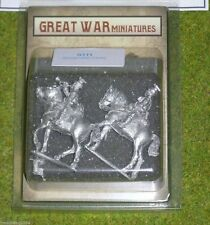GREAT WAR MINIATURES German Uhlan Cavalry Command G111
