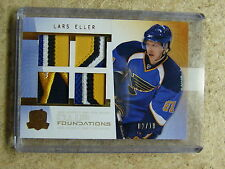 09-10 The Cup Foundations Quad Patch RC Rookie LARS ELLER Serial # 02/10