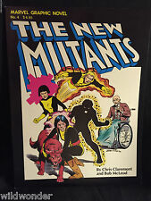 NEW MUTANTS GN SIGNED CLAREMONT FIRST NEW MUTANTS 1982 MARVEL COMICS