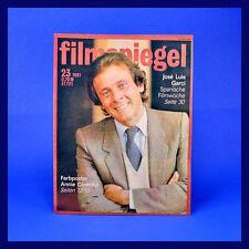 DDR ▶ Filmspiegel 23/1981 Annie Girardot Alfred Struwe