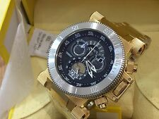 90032 Invicta 51mm Coalition Forces Swiss Chronograph 18KT GP SS Bracelet Watch