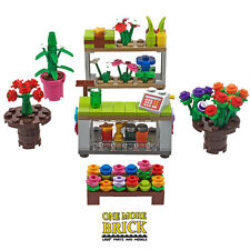 LEGO Flower Shop / Market Stall Modular Florist - over 160 NEW parts