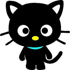 HELLO KITTY CHOCO CAT STICKER DECAL GRAPHIC ART WALL DECOR