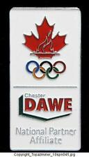OLYMPIC PINS 2010 VANCOUVER CANADA DAWE CHESTER SPONSOR