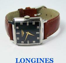 Vintage S/Steel LONGINES Unisex Winding Watch w/Daimonds Cal 23Z 1940s* SERVICED