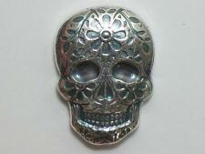 2 oz DAY OF THE DEAD SILVER SKULL - MONARCH PRECIOUS METALS - MPM TWO OUNCE