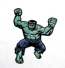 The incredible HULK COMIC SUPER HERO MARVEL ADVENGER CARTOON MOVIE IRON ON PATCH