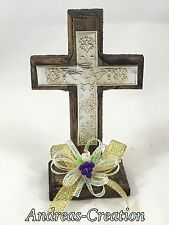 12 First Communion Baptism Wood Cross Favor Boy Girl Primera Comunion Recuerdo