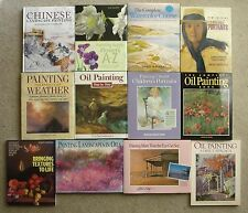 North Light Books Lot 12 Art/Painting Instruction Books, Watercolor/Oil, Nice!