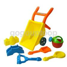 Kids Plastic Wheelbarrow Beach Garden Sand Playing Tool Toy Fun Summer Game