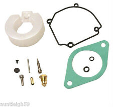 New Carburetor Carb Kit & Float, Needle, Seat Mariner Outboards 18-7291 84475M