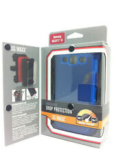 Ballistic SG MAXX Case+Holster Belt Clip for Samsung Galaxy S3 S 3 III BLUE  O45
