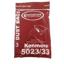 Kenmore 5033 , 5022 Type E Canister Vacuum Bags (3pk) by EnviroCare