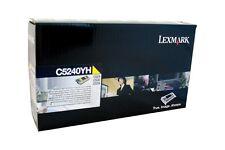 original Lexmark Toner C5240YH yellow für  T524 C524  C532  C534 neu A-Ware